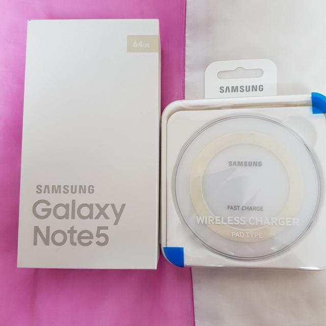 삼성전자 갤럭시노트5 골드플래티넘 64GB  SK텔레콤 - 상품이미지